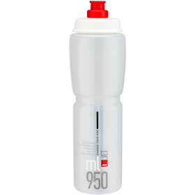Elite Jet Bidon 950ml, clear/red logo